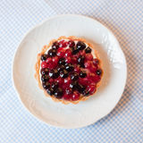 Currant Cake. On the table Stock Photo