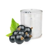 Currant can Royalty Free Stock Image