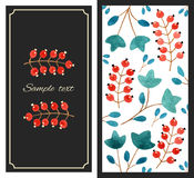 Currant card Stock Images