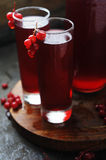 Currant cocktail with berries Royalty Free Stock Images