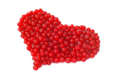 Currant heart Stock Image