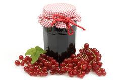 Currant jelly Royalty Free Stock Images