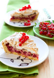 currant meringue tart Royalty Free Stock Images