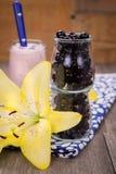 Currant smoothie Stock Photos