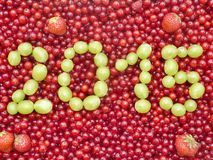 Currant writing 2015 Stock Photo