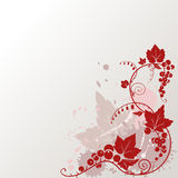 Currants. Floral ornament; vector design element Royalty Free Stock Photography