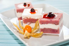 Currants Parfait Stock Photos