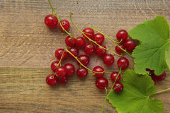 Currants on a wooden Stock Photos