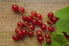 Currants on a wooden Stock Photo