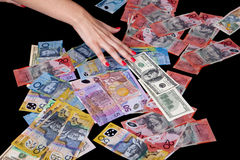 Currencies Stock Images