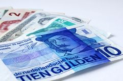 Currencies Stock Image