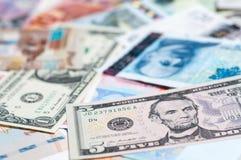 currencies Imagens de Stock Royalty Free
