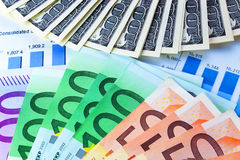 Currencies concept Royalty Free Stock Photo