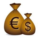 Currencies design Stock Photos