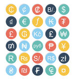 Currencies design. Over  white background, vector illustration Stock Photo