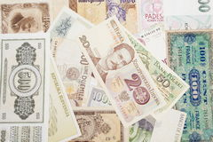 Currencies from Europe Stock Image
