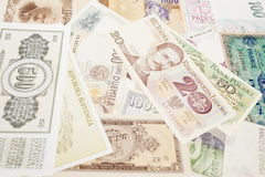 Currencies from Europe Stock Photo