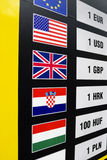 Currencies exchange Royalty Free Stock Photo