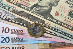 Currencies Stock Photography