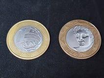 brazil coins stock photos