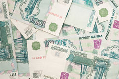 Currencies of the world - russian rouble Stock Image