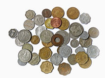 Currency. Different types of Indian currency, Antique coins Stock Images