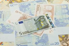 Currency background Stock Photography