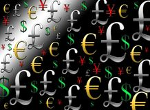 Currency background Royalty Free Stock Photo