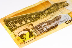 Currency  banknote of Africa Stock Images