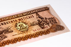 Currency banknote of Africa Stock Photography
