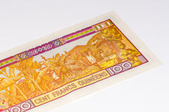 Currency banknote of Africa Stock Photo