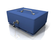 The currency box Royalty Free Stock Photo