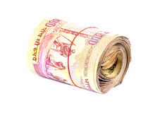 Currency bundle Royalty Free Stock Image