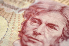 Currency close up Stock Images