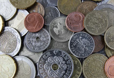 Currency coins Royalty Free Stock Photos