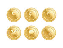 Currency coins Royalty Free Stock Photo