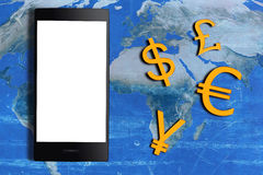 Currency Concept Background Stock Image