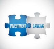 Currency concept, Investment Banking on puzzle. Illustration design graphic Stock Photography