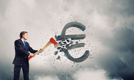 Currency concept Stock Photography