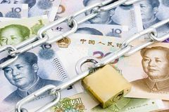 Currency control Royalty Free Stock Images