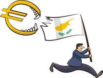 Cypriot crisis - threat to the euro zone Royalty Free Stock Photo