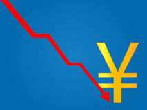 Currency Crisis Yen Stock Images
