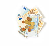 Currency euro Stock Image