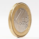 Currency of a euro Stock Photography
