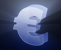 currency euro Απεικόνιση αποθεμάτων