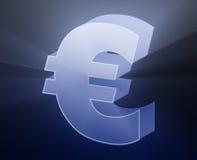 currency euro Στοκ εικόνα με δικαίωμα ελεύθερης χρήσης