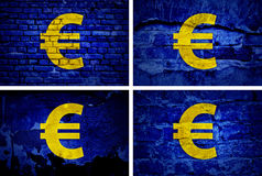 Currency Euro. Royalty Free Stock Photos