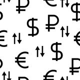 The currency exchange dollar Stock Photo