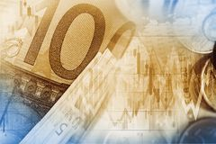 Currency Exchange Illustration Royalty Free Stock Photo