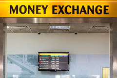 Currency exchange Royalty Free Stock Image